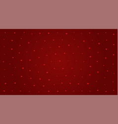 pattern heart on red background for valentines day vector image