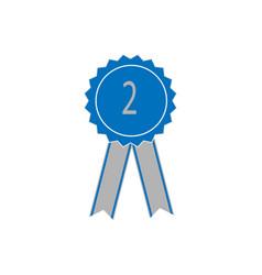 ribbon award vector image vector image