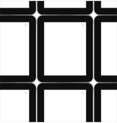 Black tablets background tablet pc ipad vector image vector image