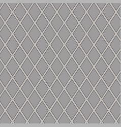 gray rhombus vector image