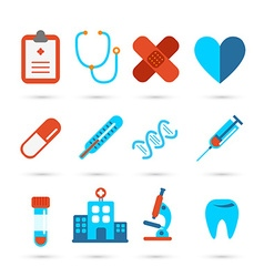 Medical health care icon vector image