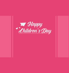 Collection stock banner for children day vector