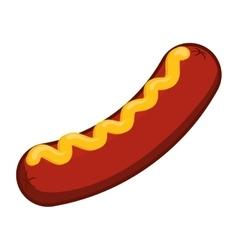 Sausage icon Steak house design graphic vector image