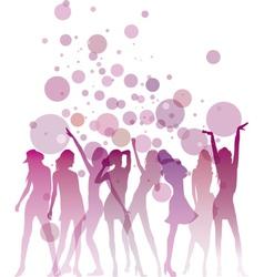 Ladies Night vector image vector image