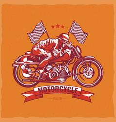 t-shirt label design vector image vector image