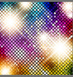 Bright Disco Background vector image vector image