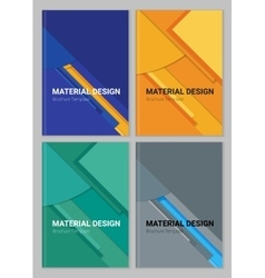 Abstract material design backgound vector image