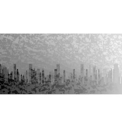 City Grunge vector image