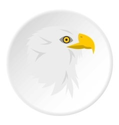 Eagle icon flat style vector image