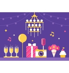 Event party and celebration vector