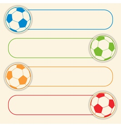 Football button graphic vector