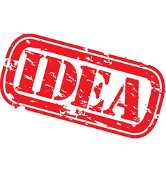 Idea stamp vector