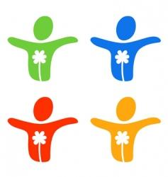 pictogram joy vector image
