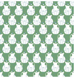 Pitchers and cups seamless pattern vector