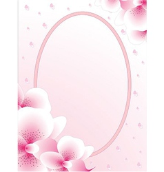 Wedding card or invitation birthday shower vector