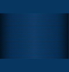 blue perforated metal texture abstract vector image