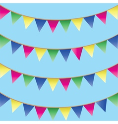 seamless background with bunking vector image vector image