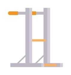 Gymnastics wall bars vector image vector image
