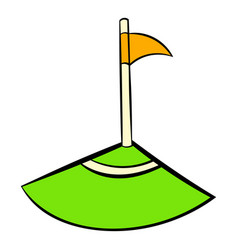 corner icon icon cartoon vector image