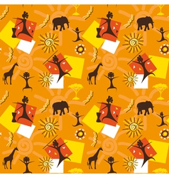 Africa seamless vector image