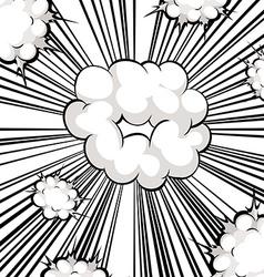 Comic balloon vector