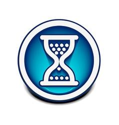 hourglass web icon vector image