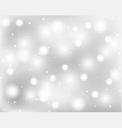 light abstract glowing bokeh lights vector image