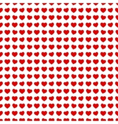Abstract seamless hearts romantic background vector image vector image