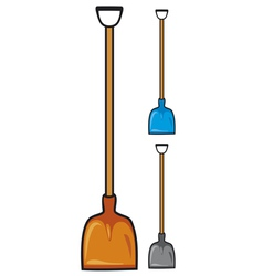 shovel vector image vector image