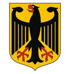 Germany Coat of arms vector image vector image