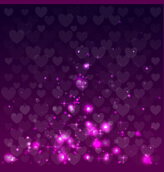 abstract background for valentine day vector image