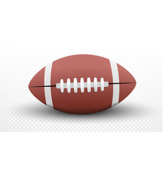 american football ball concept vector image