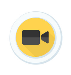 camera button vector image