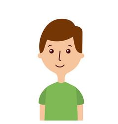 cartoon man person vector image
