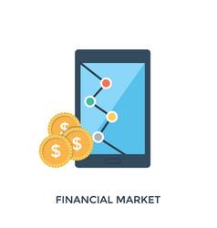 Financial market vector