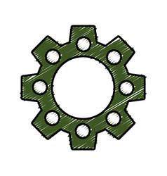 Gear wheels design vector