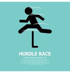 Hurdle Race vector