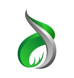 initial d letter design inspiration vector image