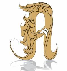Letters alphabet font vector