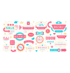 sale banners special offers templates and discount vector image