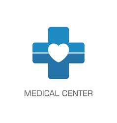 medical center vector image