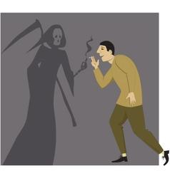 Smoking kills vector image vector image