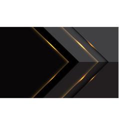 Abstract grey gold light arrow direction vector