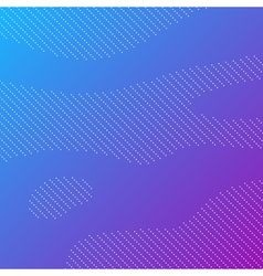Dotted background with blue gradient vector image