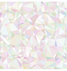 Gray triangular low poly mosaic abstract pattern vector