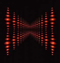 neon lights background vector image