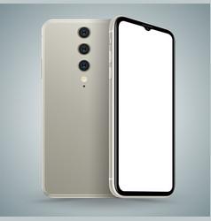 smartphone mockup for technology vector image