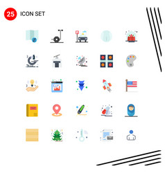 Universal icon symbols group 25 modern flat vector