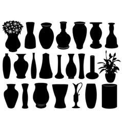 vase set vector image