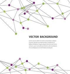 polygonal background11 vector image vector image